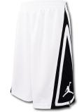 SK410 ジュニア ジョーダン バスケットボールショーツ Jordan Franchise Shorts キッズ バスパン 白黒 【メール便対応】