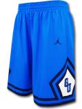 SJ910 メンズ ジョーダン NCAA ジョージタウン大学 ホヤス カレッジショーツ Jordan Georgetown Hoyas Shorts バスパン 青紺白