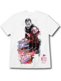 NB552 メンズ ミッチェル&ネス NBA シクサーズ アレン・アイバーソン Tシャツ Mitchell & Ness Philadelphia 76ers Allen Iverson  白黒赤 【メール便対応】