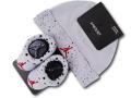 BA605 ベビー ジョーダン 帽子&ソックスシューズ セット Jordan Infant Set 赤ちゃん 靴下 灰黒赤