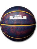 "BL050 Nike ""レブロン"" LeBron Playground Basketball ナイキ バスケットボール 7号 紺ワインレッド白"