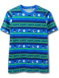 NK418 ジュニア ナイキ Tシャツ Nike Youth T-Shirt キッズ ユース トップス 青紺緑 【メール便対応】