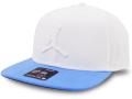 JC012 ジョーダン スナップバックキャップ Jordan Pro Jumpman Snapback Cap 帽子 白水色