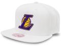 CN192 ミッチェル&ネス NBA ロサンゼルス・レイカーズ スナップバックキャップ Mitchell & Ness Los Angeles Lakers Snapback Cap 帽子 白
