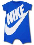 BY173 ベビー ナイキ ロンパース Nike Futura Rompers ベビー服 赤ちゃん オリオンブルー白 【メール便対応】
