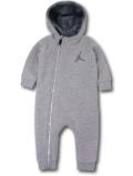 BT105 ベビー ジョーダン フード付き もこもこ裏地カバーオール Jordan Infant Coverall ベビー服 赤ちゃん 灰