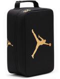 DB150 ジョーダン シューズケース Jordan The Shoe Box シューズバッグ 黒メタリックゴールド