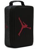 DB151 ジョーダン シューズケース Jordan The Shoe Box シューズバッグ 黒赤アントラシート