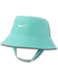 BA611 ベビー ナイキ UVカット バケットハット Nike Bucket Hat Infant UPF40+ 赤ちゃん 帽子 エメラルドグリーン白 【メール便対応】