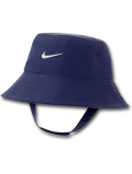 BA609 ベビー ナイキ UVカット バケットハット Nike Bucket Hat Infant UPF40+ 赤ちゃん 帽子 紺白 【メール便対応】