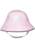 BA614 ベビー ナイキ UVカット バケットハット Nike Bucket Hat Infant UPF40+ 赤ちゃん 帽子 ピンク白 【メール便対応】