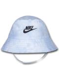 BA613 ベビー ナイキ UVカット バケットハット Nike Bucket Hat Infant UPF40+ 赤ちゃん 帽子 水色黒 【メール便対応】