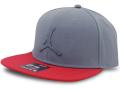 JC013 ジョーダン スナップバックキャップ Jordan Pro Jumpman Snapback Cap 帽子 ダークグレー赤