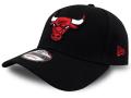 CN196 ニューエラ NBA シカゴ・ブルズ アジャスタブルキャップ New Era Chicago Bulls Adjustable Cap 帽子 黒赤