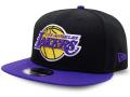 CN197 ニューエラ NBA ロサンゼルス・レイカーズ スナップバックキャップ New Era Los Angeles Lakers Snapback Cap 帽子 黒紫