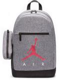 JB126 ジョーダン ペンケース付き リュックサック Jordan Backpack & Pencil Case バックパック 灰黒赤