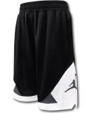 SK419 ジュニア ジョーダン バスケットボールショーツ Jordan Shorts キッズ バスパン 黒白ダークグレー【ドライフィット】 【メール便対応】