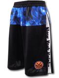 SK424 ジュニア NBA ニューヨーク・ニックス ショーツ Zipway New York Knicks Shorts ジップウェイ キッズ バスパン 黒青 【メール便対応】