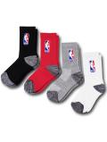 YK641 【ばら売り】 キッズ NBA バスケットボール クルーソックス Basketball Crew Socks ミドル丈 靴下 19~22cm 【メール便対応】