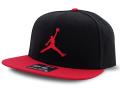 JC015 ジョーダン スナップバックキャップ Jordan Pro Jumpman Snapback Cap 帽子 黒赤