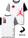 LL519 ジュニア ジョーダン Tシャツ Jordan Youth T-Shirt キッズ ユース トップス 白黒インフラレッド 【メール便対応】