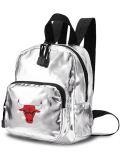 NP821 NBA シカゴ・ブルズ ミニリュックサック Chicago Bulls Mini Backpack バックパック メタリックシルバー黒