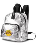 NP820 NBA ロサンゼルス・レイカーズ ミニリュックサック Los Angeles Lakers Mini Backpack バックパック メタリックシルバー黒
