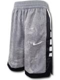 SK434 ジュニア ナイキ バスケットボールショーツ Nike Youth Shorts キッズ ユース バスパン ダークグレー黒白【ドライフィット】 【メール便対応】