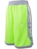 SK432 ジュニア ナイキ バスケットボールショーツ Nike Youth Shorts キッズ バスパン ネオングリーン灰白【ドライフィット】 【メール便対応】