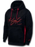 HJ777 Jordan Wings of Flight Pullover Hoodie ジョーダン もこもこパーカー 黒赤