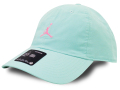 JC019 ジョーダン ストラップバックキャップ Jordan Heritage86 Washed Adjustable Hat Cap 帽子 エメラルドグリーンネオンピンク