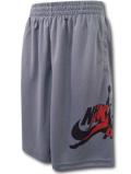 SK286 ジュニア Jordan Jumpman Classics Shorts ジョーダン ショーツ キッズ バスパン ダークグレー黒赤 【メール便対応】