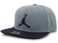 JC021 ジョーダン スナップバックキャップ Jordan Pro Jumpman Snapback Cap 帽子 ダークグレー黒