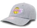 CN204 ミッチェル&ネス NBA ロサンゼルス・レイカーズ ストラップバックキャップ Mitchell & Ness Los Angeles Lakers Strapback Cap 帽子 灰紫