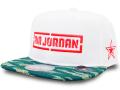 KC696 ジュニア ジョーダン スナップバックキャップ Jordan Youth Snapback Cap キッズ 帽子 白緑インフラレッド