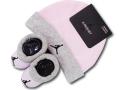 BA621 ベビー ジョーダン 帽子&ソックス セット Jordan Infant Set 赤ちゃん 靴下 ピンク灰黒