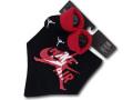 BA511 ベビー Jordan ジョーダン スタイ&ソックスシューズ セット 黒赤白