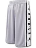 SK437 ジュニア ジョーダン バスケットボールショーツ Jordan Youth Shorts キッズ ユース バスパン 灰白黒【ドライフィット】 【メール便対応】