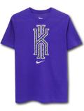 NK430 ジュニア ナイキ カイリー・アービング Tシャツ Nike Kyrie Irving T-Shirt キッズ ユース トップス 紫メタリックシルバー 【メール便対応】