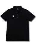 JP266 メンズ ジョーダン ポロシャツ Jordan Dri-Fit Team Polo 黒白【ドライフィット】
