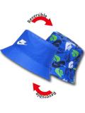 BA622 ベビー ナイキ リバーシブル バケットハット Nike Bucket Hat Infant Reversible 赤ちゃん 帽子 青白緑 【メール便対応】