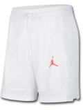 SJ913 メンズ ジョーダン バスケットボール ショーツ Jordan Air Shorts バスパン 白インフラレッド【ドライフィット】