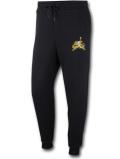 PJ831 メンズ Jordan Jumpman Classics Fleece Pants ジョーダン スウェットパンツ  黒メタリックゴールド