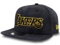 """CN202 ニューエラ NBA ロサンゼルス・レイカーズ """"Black MAMBA ブラックマンバ"""" スナップバックキャップ New Era Los Angeles Lakers Snapback Cap 帽子 黒黄色"""