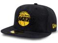 """CN203 ニューエラ NBA ロサンゼルス・レイカーズ """"Black MAMBA ブラックマンバ"""" キャップ New Era Los Angeles Lakers Fitted Cap 帽子 黒黄色"""