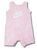 BY195 ベビー ナイキ ノースリーブ ロンパース Nike Infant Rompers ベビー服 赤ちゃん ピンク白 【メール便対応】