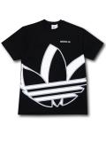 KO454 メンズ アディダス Tシャツ adidas Oversize Shadow Trefoil T-Shirt 黒白灰 【メール便対応】
