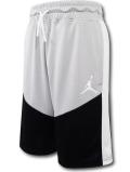 SK441 ジュニア ジョーダン バスケットボールショーツ Jordan Youth Shorts キッズ ユース バスパン 灰黒白【ドライフィット】 【メール便対応】