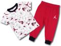 BP005 キッズ 子供用 ジョーダン Tシャツ&スウェットパンツ セットアップ Jordan Toddler Set 白赤黒