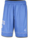 SJ914 メンズ ジョーダン NCAA ノースカロライナ大学 ターヒールズ バスケットボールショーツ North Carolina Tar Heels Shorts カレッジ バスパン 水色白【ドライフィット】